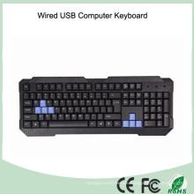 Azerty Französisch Layout Computer USB Wired Keyboard (KB-1688)