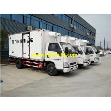 2T JMC Medical Waste Refrigerated Trucks