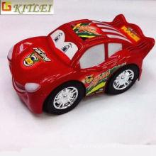 Mini de alta calidad de plástico lindo coche de carreras Modelo Vinly niños juguetes