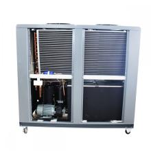 Recipiente plástico do refrigerador de água de refrigeração ar industrial