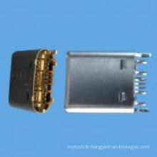 Male C Type SMT Connector USB 3.1 for Computer, Phone