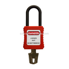 best sales approve CE certification 304 stainless steel shackle security lockout