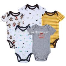 Infant baby boy bodysuit romper jumpsuit short sleeve playsuit clothes