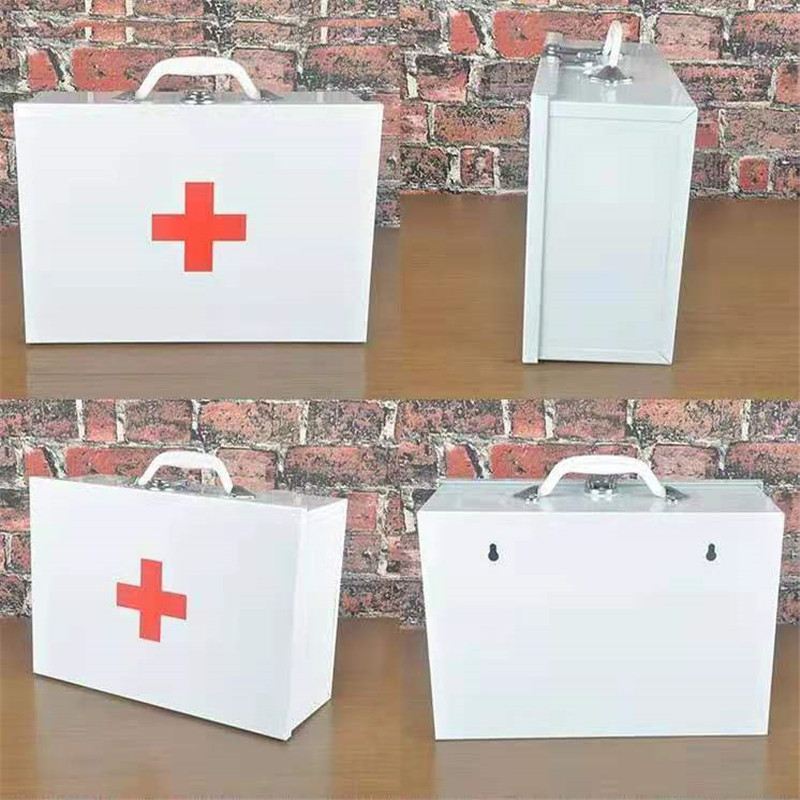 Medical Empty Disaster First Aid Kits Box