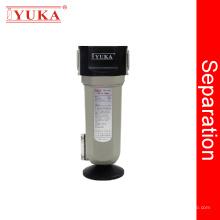 Separador de agua / aceite para compresor de aire con filtro de aire