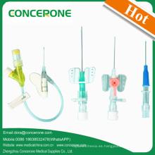 Diferentes tipos de cánula intravenosa (IC-1006)