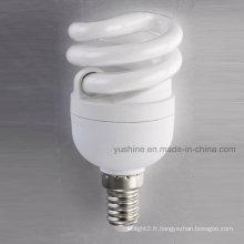 Lampe spirale pleine 8W avec CE ERP