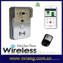 Фабрика WiFi Видео Домофон Цифровой Дверной Звонок Водонепроницаемый Ночного Видения Движения Обнаружения Домофон