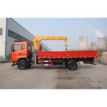 6 ton truck with crane