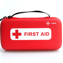 Custom Promotional Gift Portable Zipper Close EVA First Aid Kit with supplies
