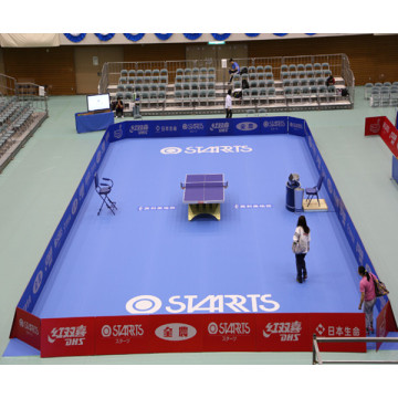 Tennis de table PVC Sports Floor avec certificat
