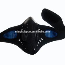 neoprene motocross half face mask máscara de treinamento esportivo