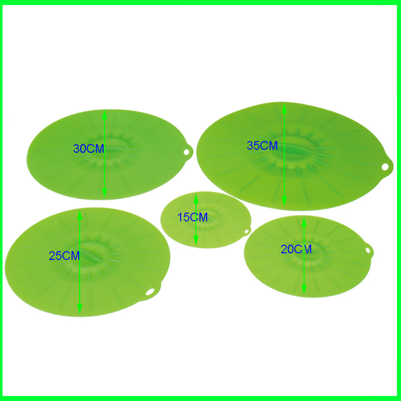 Wholesale Silicone Vacuum Lid Set