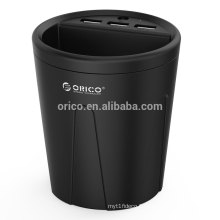 ORICO 3 Port Car Charger - Black (UCH-C2)