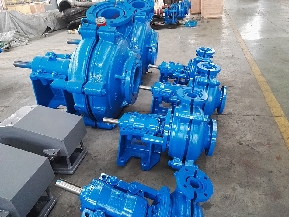 2 / 1.5B-AH Mining Centrifugal Slurry Pump