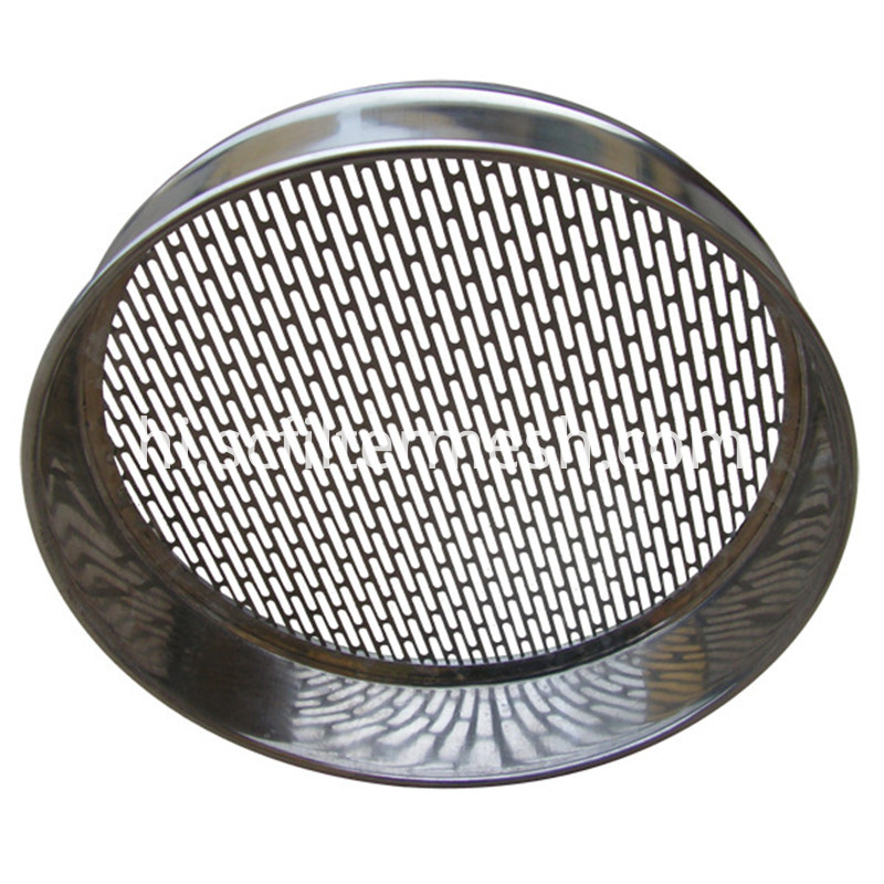 Perforated Test Sieve