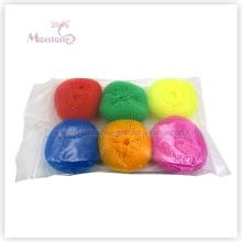 Haushalts-AusgangsKüchen-Topf- / Teller-Reinigungs-Ball-Plastikmaschen-Reinigungsapparat