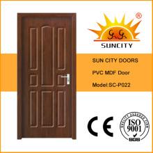 Cheap MDF Veneer Wooden Door