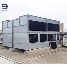Abkühlende Ausrüstung des Kupferrohr-HVAC / superdyma geschlossener Kühlturm für Wasser