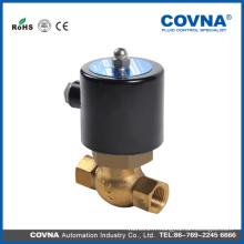 Vanne solénoïde en laiton à vapeur actionnée par piston COVNA Piston