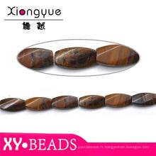 Couleur naturelle perles bijoux pierre