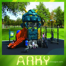 colorful childhood new robot outdoor playground