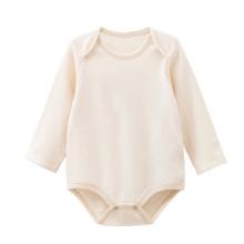 Camiseta de manga larga de algodón orgánico bebé