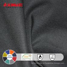 tela de alta visibilidad de algodón y poliéster para chaleco safty
