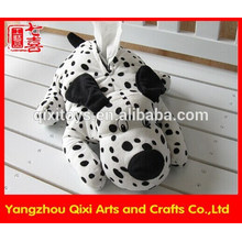 Wholesale plush toy dog shaped tissue box cover plush tissue cover