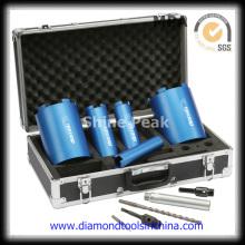Brocas de diamante segmento base