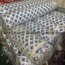 Lager gedruckt Pongee Stoff für Bettwäsche-Set