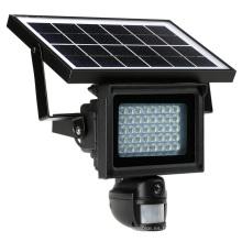 Cámara de reflector de movimiento PIR con energía solar a prueba de agua con video de grabación