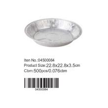 D22.8cm Aluminium foil round cake pan