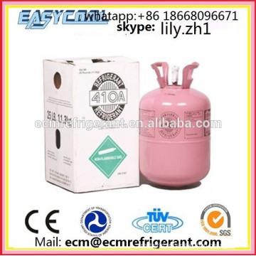 Le gaz réfrigérant de R410A a utilisé le climatiseur, le prix du gaz réfrigérant r410 a employé des constructeurs / fournisseurs / producteurs de voitures
