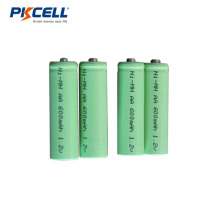 Batería recargable de NIMH 1.2v AA NiMh batería 600mAh