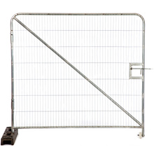 Inexpensive Galvnanized Australia Temporary Fence with Accessories Sale on Ebay