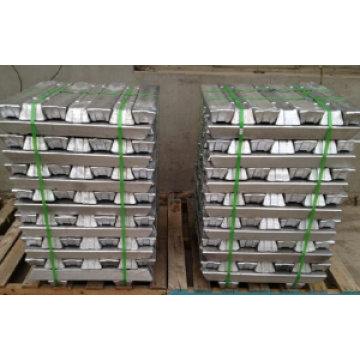 Fuente de fábrica Lingote de aluminio 99.7%