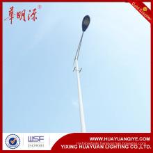 single arm galvanized road street lamp poles