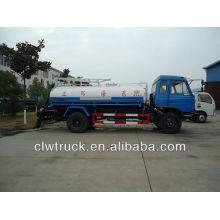 Dongfeng 145 camión fecal, 8000L fecal camión de succión