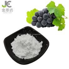 98% Resveratrolpulver Traubenhaut / Traubenschalenextraktpulver
