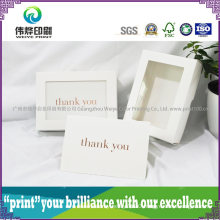 Personalized Wedding Card Printing Luxurious Invitation Card /Thanks Card
