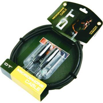 DFS série Instrument professionnel guitare câble Jack 90° à Jack Orange