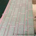 Insulated decorative wall vinyl siding