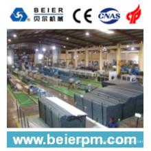 Ligne de machine de production en plastique d'extrusion de tube / tuyau de PVC de 315-630mm