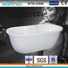 Einzigartig entworfene hochwertige freistehende Badewanne (WTM-02846)