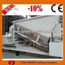 Venda quente 10m3 / h mini concreto móvel preço da planta de mistura