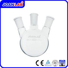 JOAN 3-Neck rond bouteille ronde avec joint standard pour les fournitures de laboratoire chimique