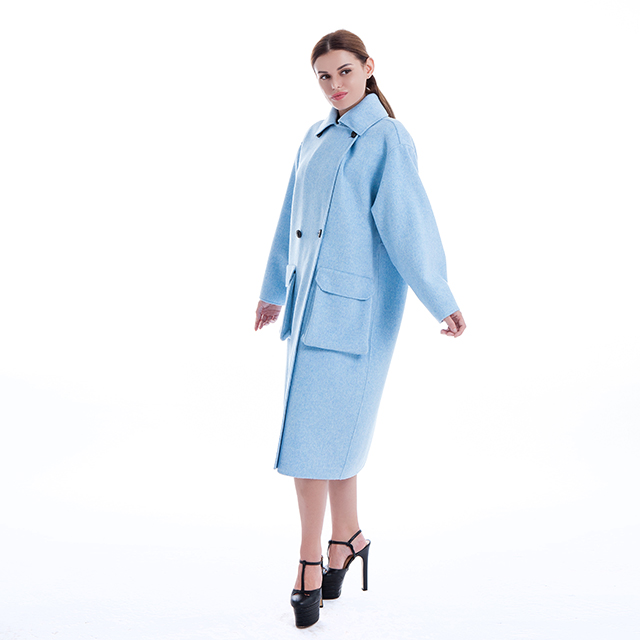 Cashmere coat fashion