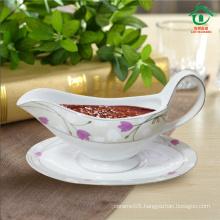 2015 New Style Oval Ceramic dinner pot porcelain pots