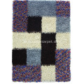 Polyester Viscose Shaggy Carpet dengan Design